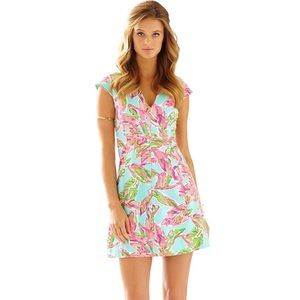 Lilly Pulitzer In the Vias Fit and Flare Dress XS!